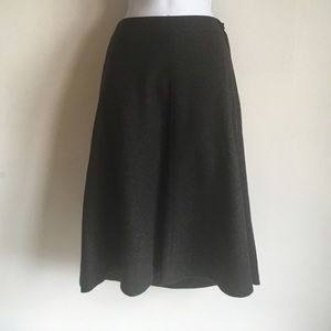 J. Crew heather grey skirt
